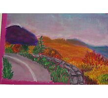 Colorful Road Photographic Print
