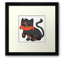 Litten- Pokemon Framed Print