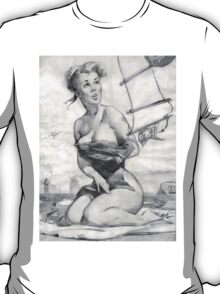 Gil Elvgren Appreciation T-Shirt no. 08 T-Shirt