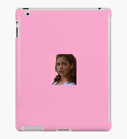 Pink Buffy Summers iPad Case/Skin