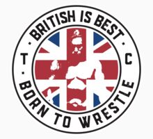 Toby Clements 'British Is Best' Flag Artwork #8 Baby Tee