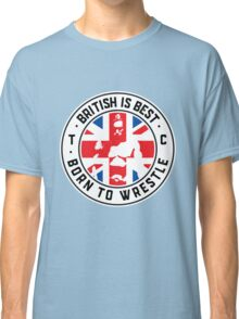 Toby Clements 'British Is Best' Flag Artwork #8 Classic T-Shirt