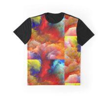 Colourfull Stroke Graphic T-Shirt