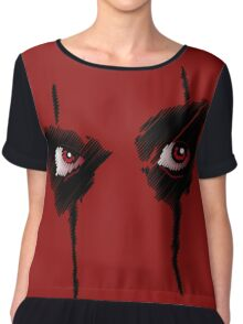 The eyes of Alice Chiffon Top