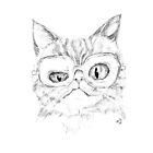 Catitude in pencil by Jellyscuds