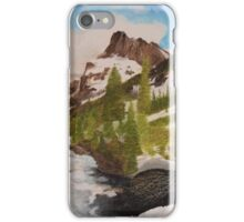 Snowy Mountain Valley iPhone Case/Skin