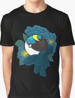 Floral Moon Ball Graphic T-Shirt