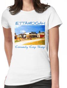 Ettamogah Comedy Cop Shop Australia Womens Fitted T-Shirt