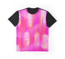 Pink Abstract Graphic T-Shirt