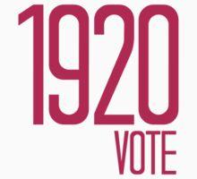 1920 Vote Kids Tee