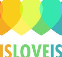 Love Is Love Is Love Sticker