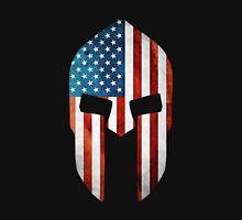 Spartan American Flag Grunge Unisex T-Shirt