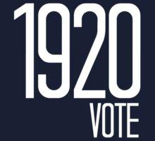 1920 Vote One Piece - Short Sleeve