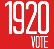 1920 Vote Baby Tee