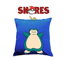 Snorlax Jaws Mashup Photographic Print