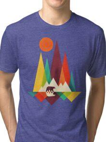 mountain bear Tri-blend T-Shirt