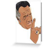 The sopranos - Paulie  Greeting Card