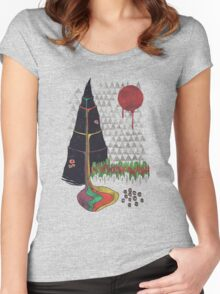 Holy Mountain Women's Fitted Scoop T-Shirt