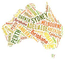 Cities of Australia by katshe