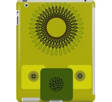 Retro Love in Green iPad Case/Skin