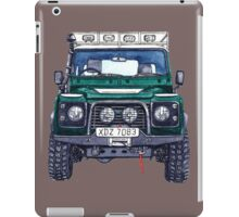 land rover xdz iPad Case/Skin
