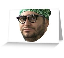 Ethan Klein Vape Nation Face Greeting Card