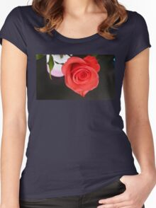 Rising In The East Women's Fitted Scoop T-Shirt