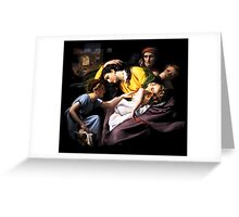 Massacre of the innocents Greeting Card
