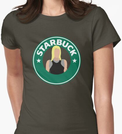 Starbuck Womens Fitted T-Shirt