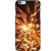 Golden Fireworks iPhone Case/Skin