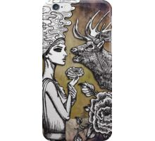 The Lonely Goddess iPhone Case/Skin