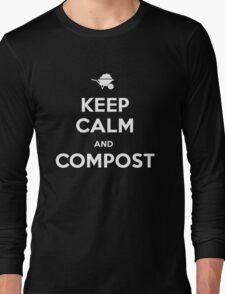 Keep Calm & Compost Long Sleeve T-Shirt