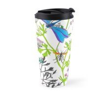 Botanical diversity 1 Travel Mug