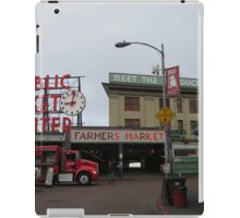 Pike Place Market iPad Case/Skin