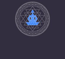 Sri Chakra Blue Meditation  T-Shirt