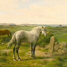 Horses near the Seaside (Chevaux en bord de mer) by Rosa Bonheur (French. Rosa Bonheur. French by Adam Asar