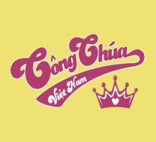 Cong Chua Vietnam (Vietnamese Princess) - Vietnamese Language T-shirt  T-Shirt
