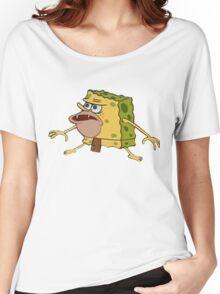 Spongebob Caveman Meme  Women's Relaxed Fit T-Shirt
