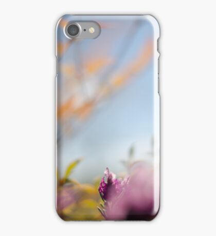Tranquil lavender iPhone Case/Skin
