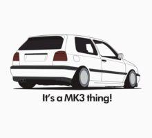 MKIII Gti Graphic Kids Tee