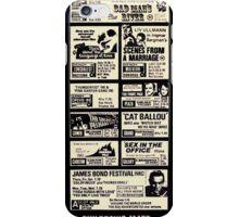 Cinema ad 1975 iPhone Case/Skin