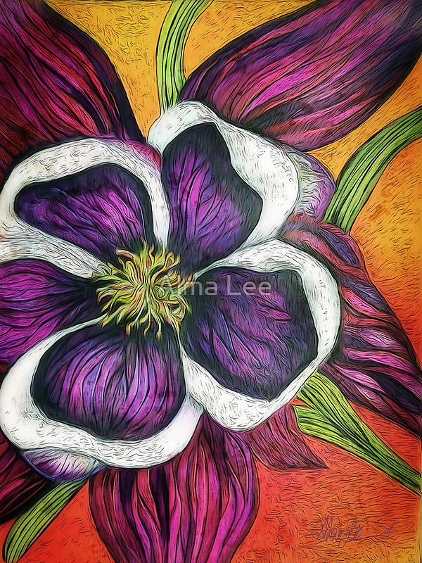 Columbine: Flower of Remembrance by Alma Lee