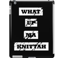 My Knittah iPad Case/Skin