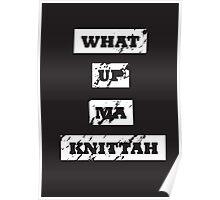 My Knittah Poster
