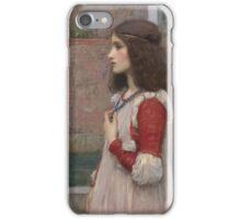 John William Waterhouse - Juliet. Woman portrait: sensual woman, girly art, female style, pretty women, femine, beautiful dress, cute, creativity, love, sexy  iPhone Case/Skin