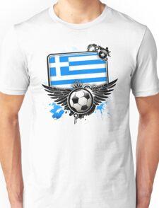 Soccer Fan Greece Unisex T-Shirt