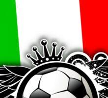 Soccer Fan Italy Sticker
