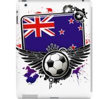 Soccer Fan New Zealand iPad Case/Skin