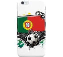 Soccer Fan Portugal iPhone Case/Skin