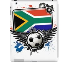 Soccer Fan South Africa iPad Case/Skin